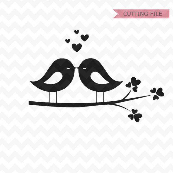 Download Lovebirds svg, love birds svg and png file, lovebirds ...