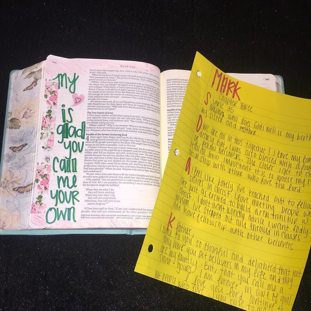 My heart is glad you call me your own  #goodmorninggirls #markchapter3 #womenlivingwell #inspirebible #biblejournaling #biblejournalingcommunity  #armsoflove http://ift.tt/1KAavV3