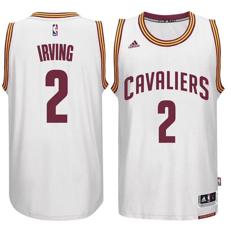 new style 161b6 fe29e Kyrie Irving Cleveland Cavaliers adidas Player Swingman Home ...