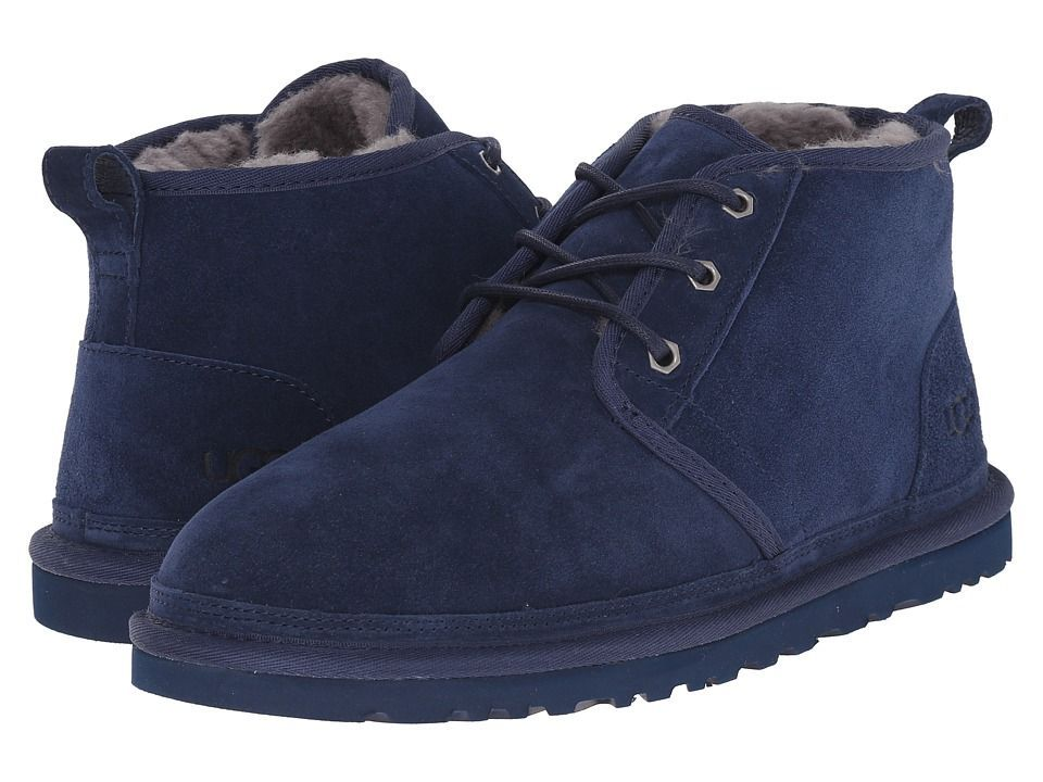 92651ae3964 UGG Neumel Men's Lace up casual Shoes New Navy Suede | Products in ...