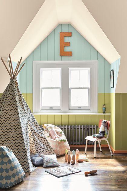 Peinture couleur pour chambre d\u0027enfant Kids rooms, Room style and