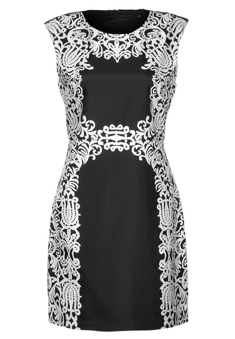 Cocktailkleid / festliches Kleid in schwarz/weiß von Tibi @Zalando