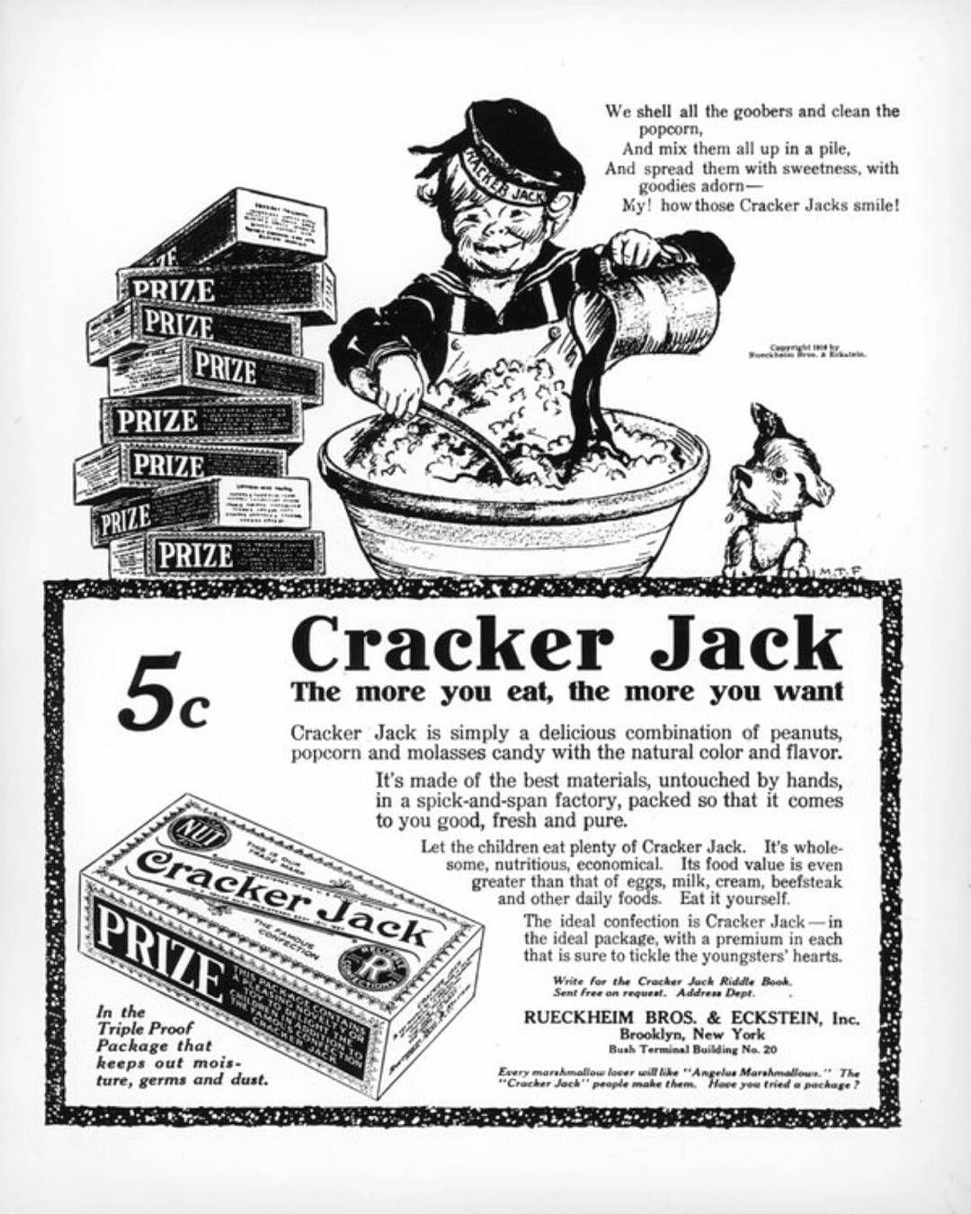 Love them #crackerjacks