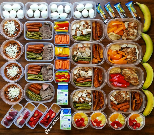 These TWENTY hard-boiled eggs (and some other stuff).   23 Meal Prep Photos That Are Almost Too Perfect