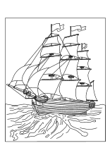 Ausmalbild Piratenschiff Ausmalen Ausmalbilder piraten