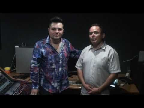 promocional de la hora mistica en radio upg con miguel galindo cantante