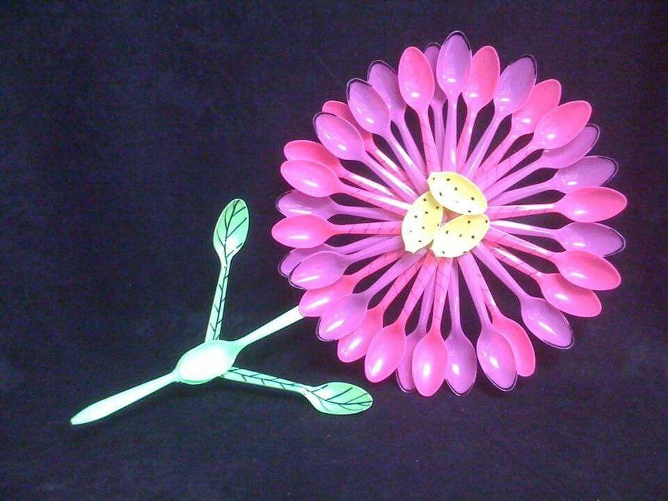 маникюр всегда цветы из пластиковых вилок фото восточному календарю она