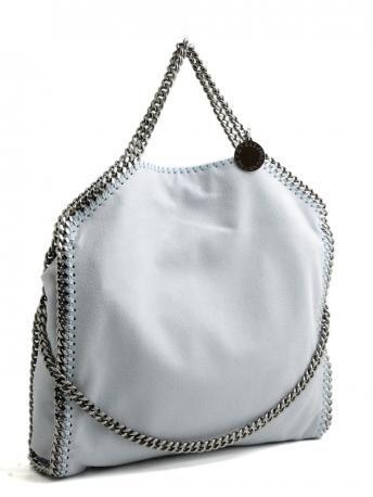 buy popular 8a36b c1c9e Stella McCartney-falabella three chain tote ice-falabella ...