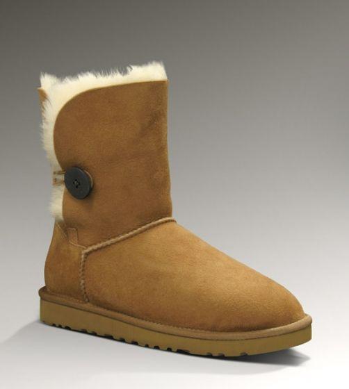 ugg boots bailey button 5803 chestnut basic white girl needs rh pinterest com