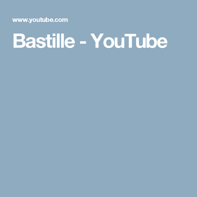 Bastille - YouTube