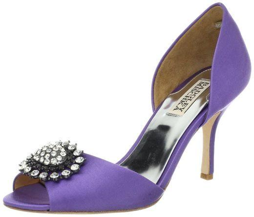 Purple Wedding Shoes Badgley Mischka Purple Shoes Bridal