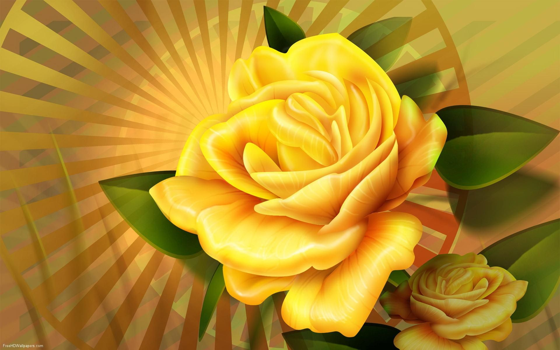 Image Detail For 3d Hd Wallpaper Beautiful Flower