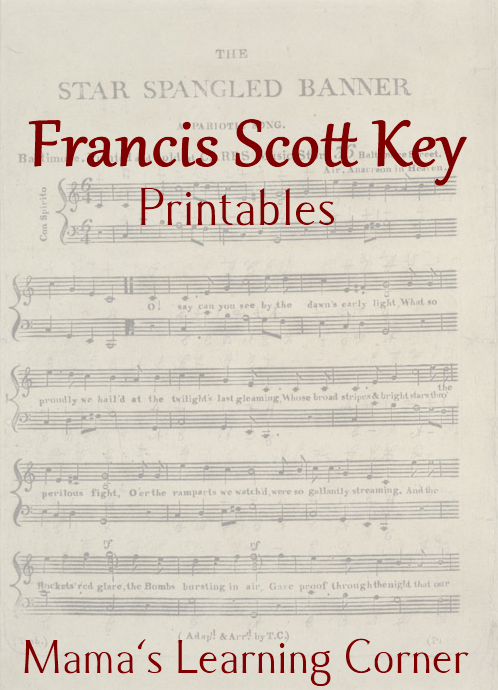 Francis Scott Key FREE Printables Music Lesson In This Packet Youll Find