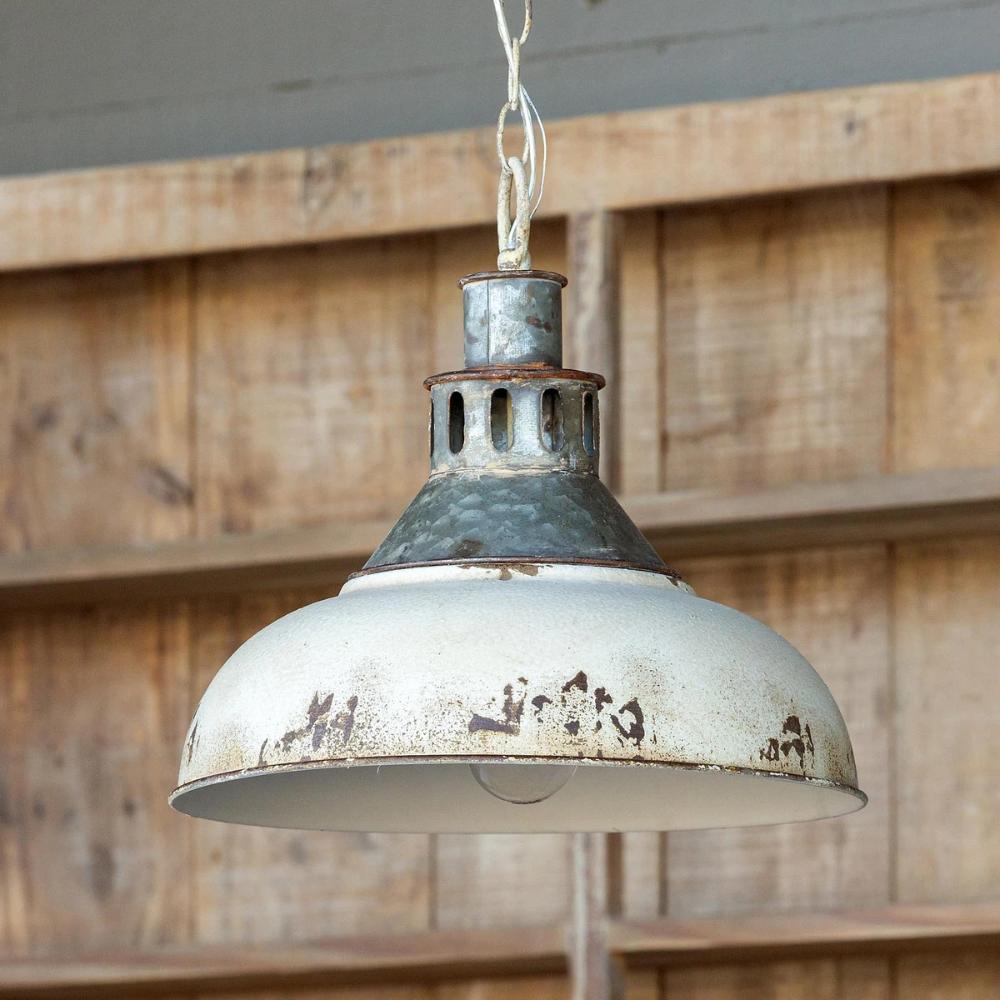 Old Factory Pendant Light Farmhouse Pendant Lighting Rustic