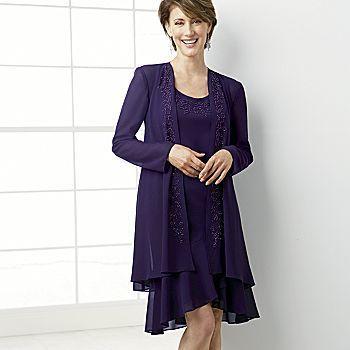 Plus Size Mother Of The Bride Dresses Purple