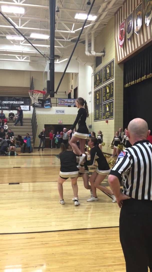 Ground Up Lib Youtube Cheer Routines Cheer Stunts Cheer Dance Routines