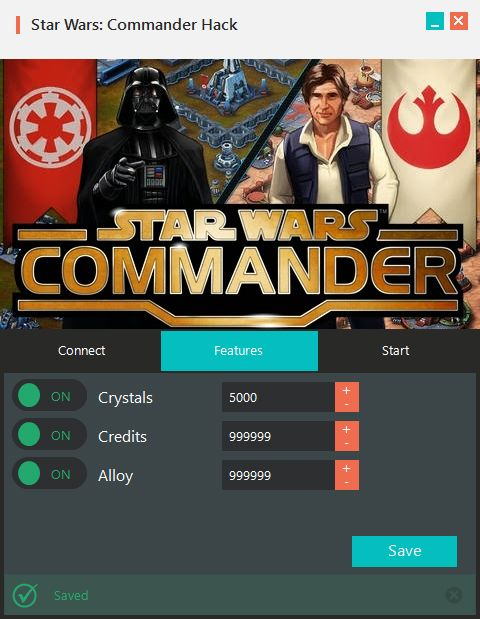Star Wars Commander Hack Tool (Android/iOS) Star Wars Commander Hack