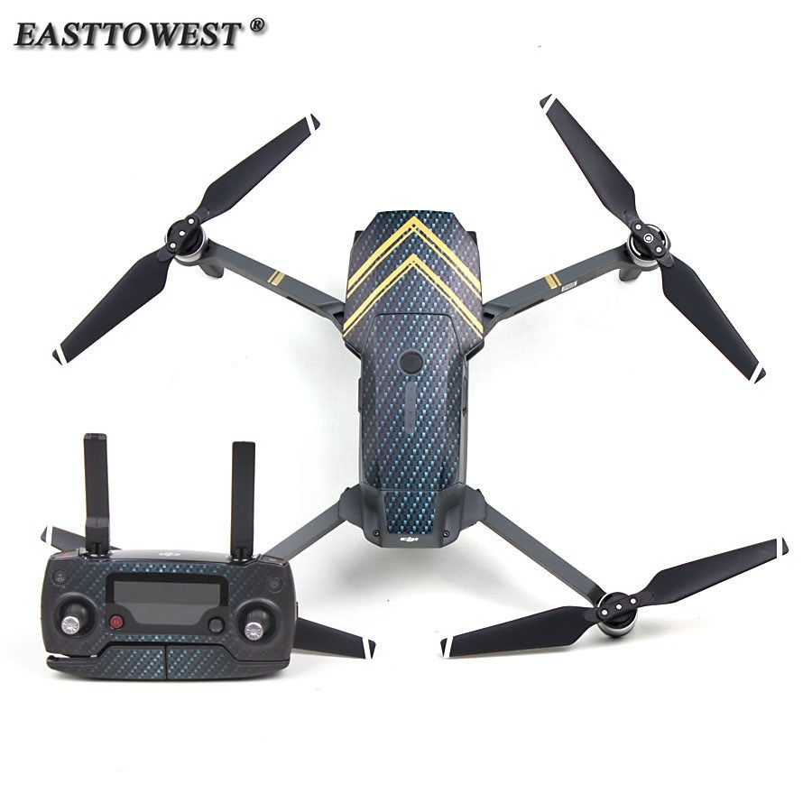 Buy Easttowest Dji Drone Mavic Pro Accessories Waterproof 3m Sticker Set For Dji Mavic Pro Drone Body Remote Controler Dji Mavic Pro Dji Mavic