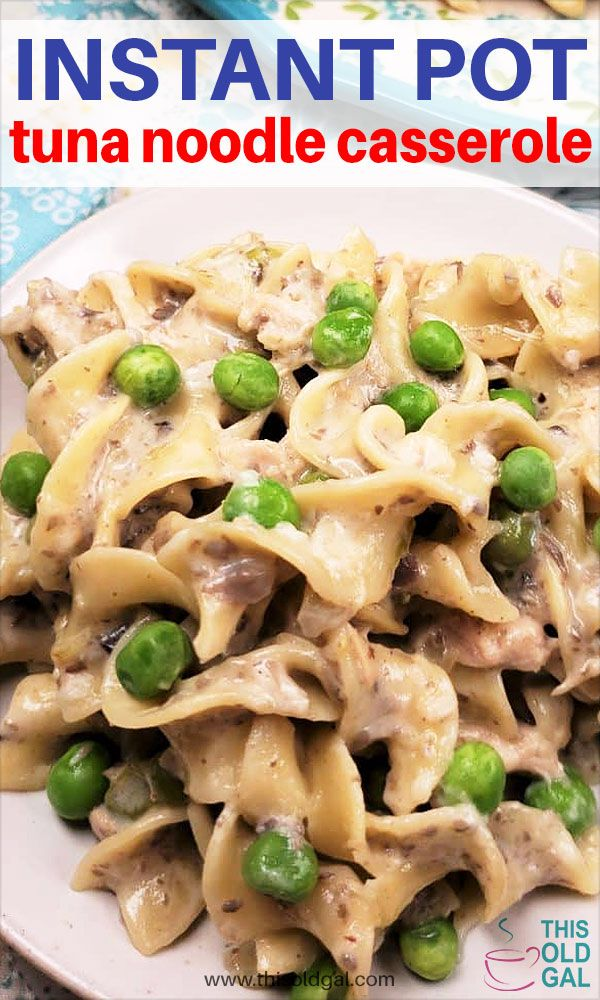 Top Pressure Cooker Tuna Noodle Casserole is absolutely the
