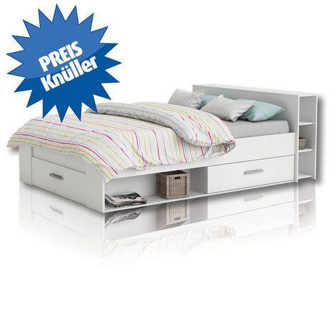 Funktionsbett Pocket Weiss 140x200 Cm Bettgestelle Betten Mobel Funktionsbett Bett 140x200 Bettgestell