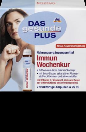 Das Gesunde Plus Immun Wochenkur Ist Ein Nahrungserganzungsmittel Mit Beta Glucan Sekundaren Pflanzenstoffen Vitaminen Und Mi Das Gesunde Plus Gesundheit Kur