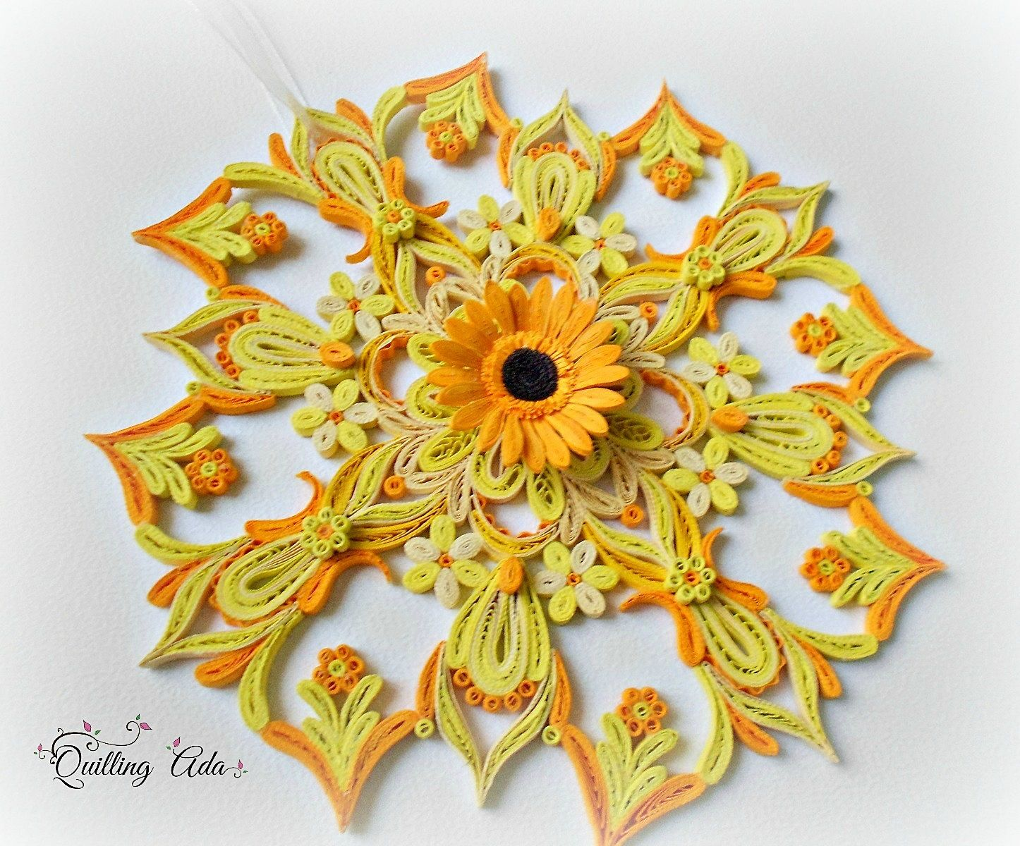 Quilling by Ada | quilling | Pinterest | Quilling, Mandala and ...
