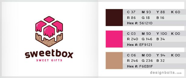 10 Best 3 Color Combinations For Logo Design With Free Swatches