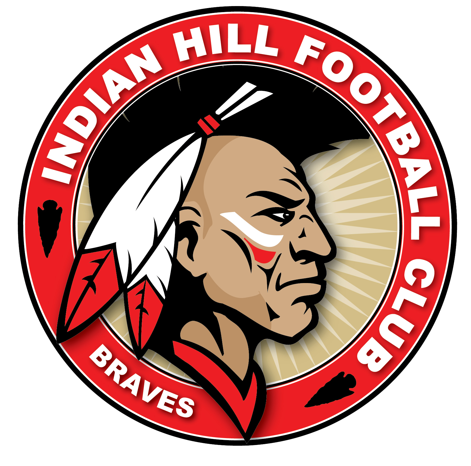 Indian Hill Football Club Logo Braves Sports