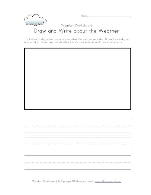 Worksheets Draw And Write Worksheet 1000 images about elementary school worksheets on pinterest weather and calendar journal