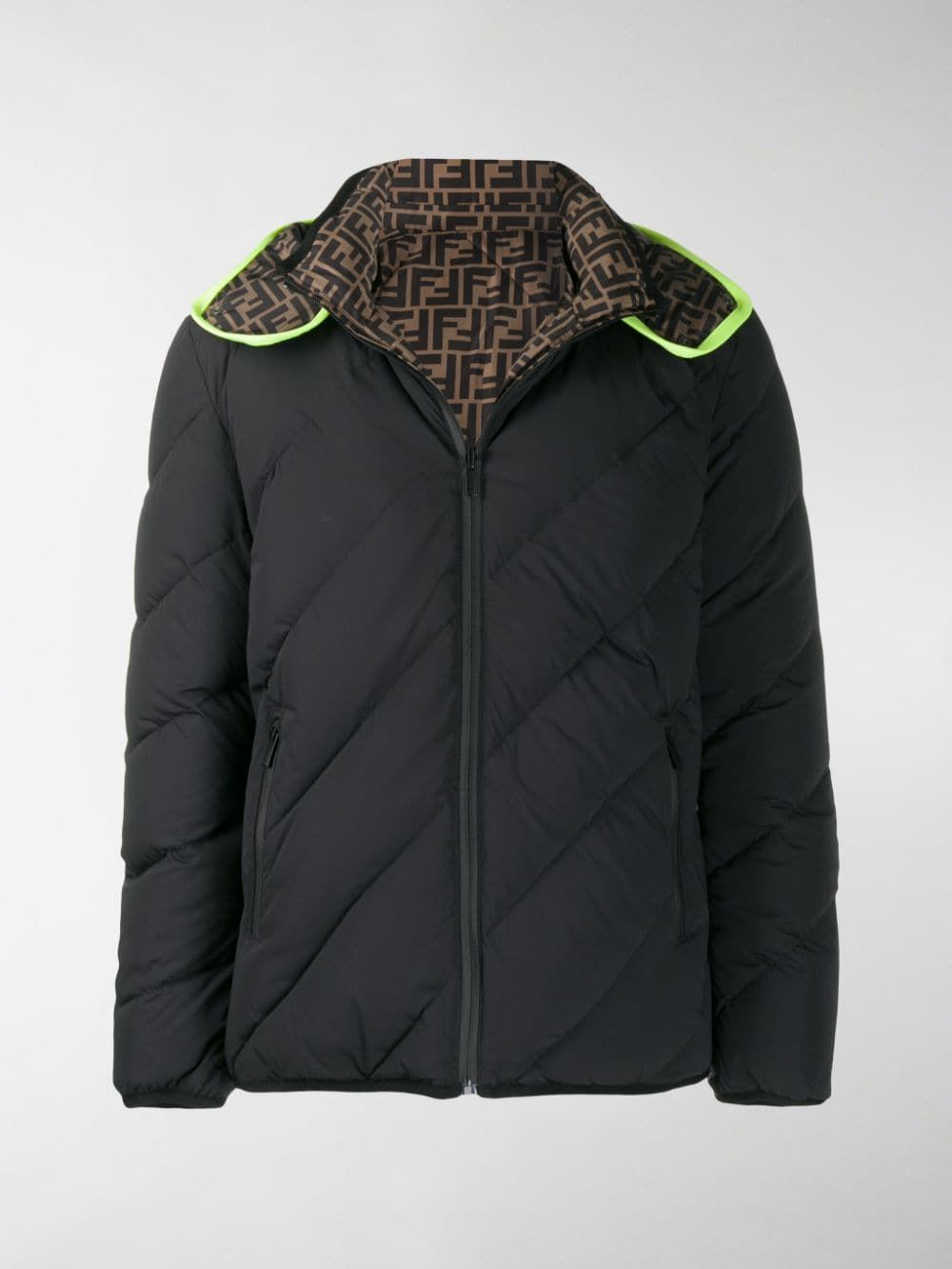 Fendi Men S Reversible Ff Quilted Down Puffer Jacket In Black Modesens Jackets Fendi Clothing Fendi [ 1333 x 1000 Pixel ]