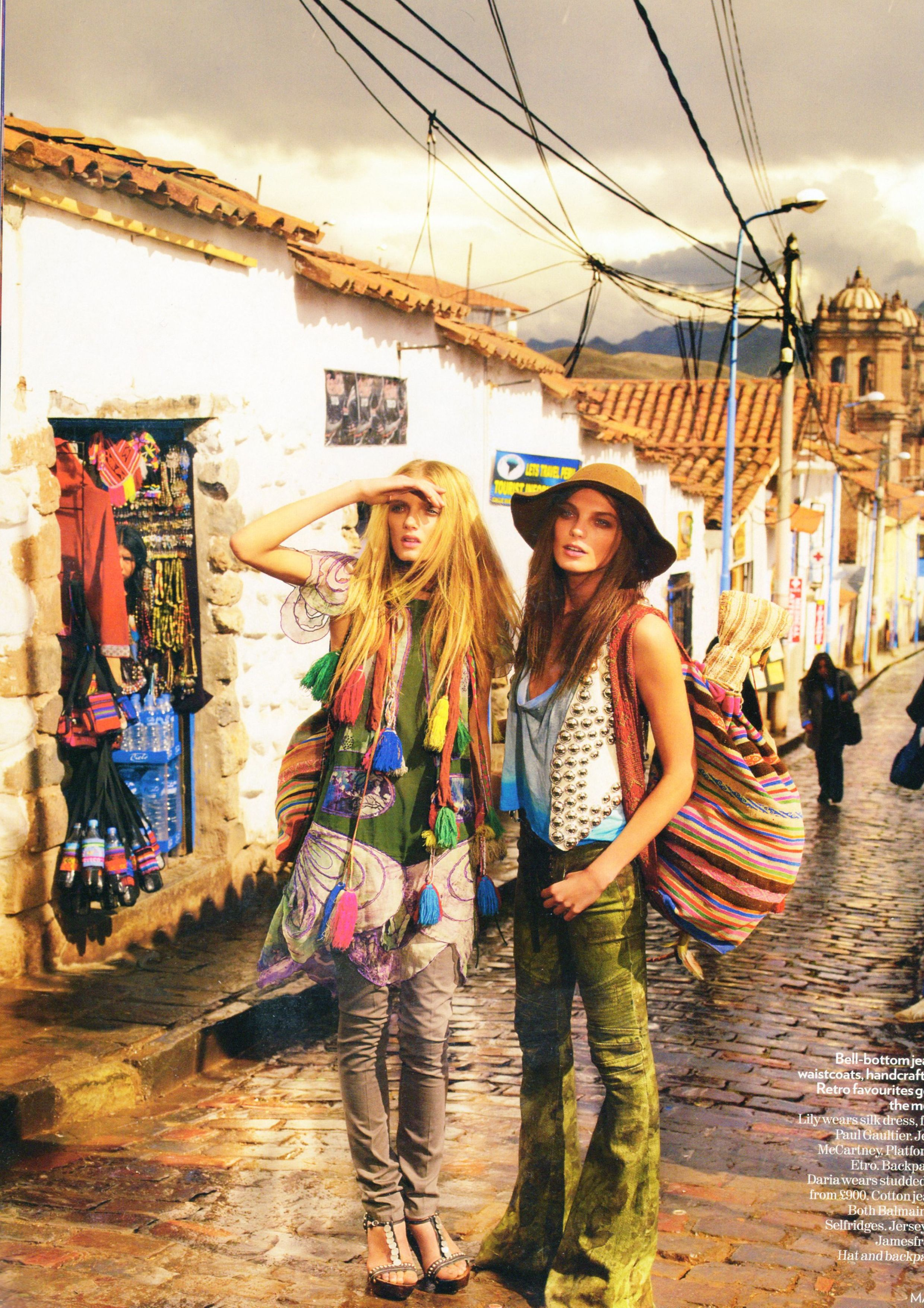 groovy ethnic from hippies