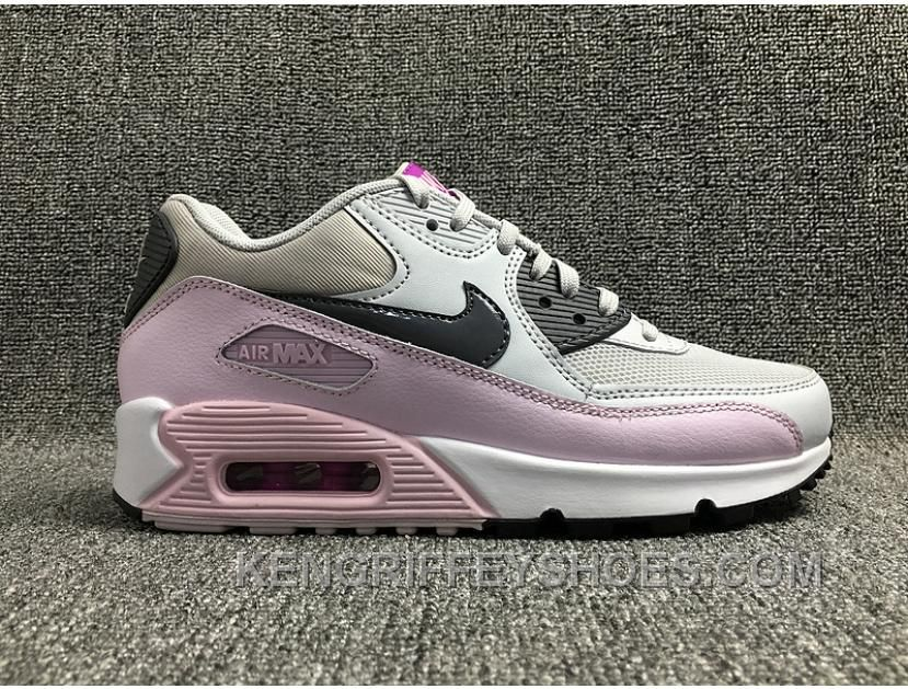 AIR MAX 90 616730-112 Nike Max Women White Pink New Release SR6rp in ... bf43dad63