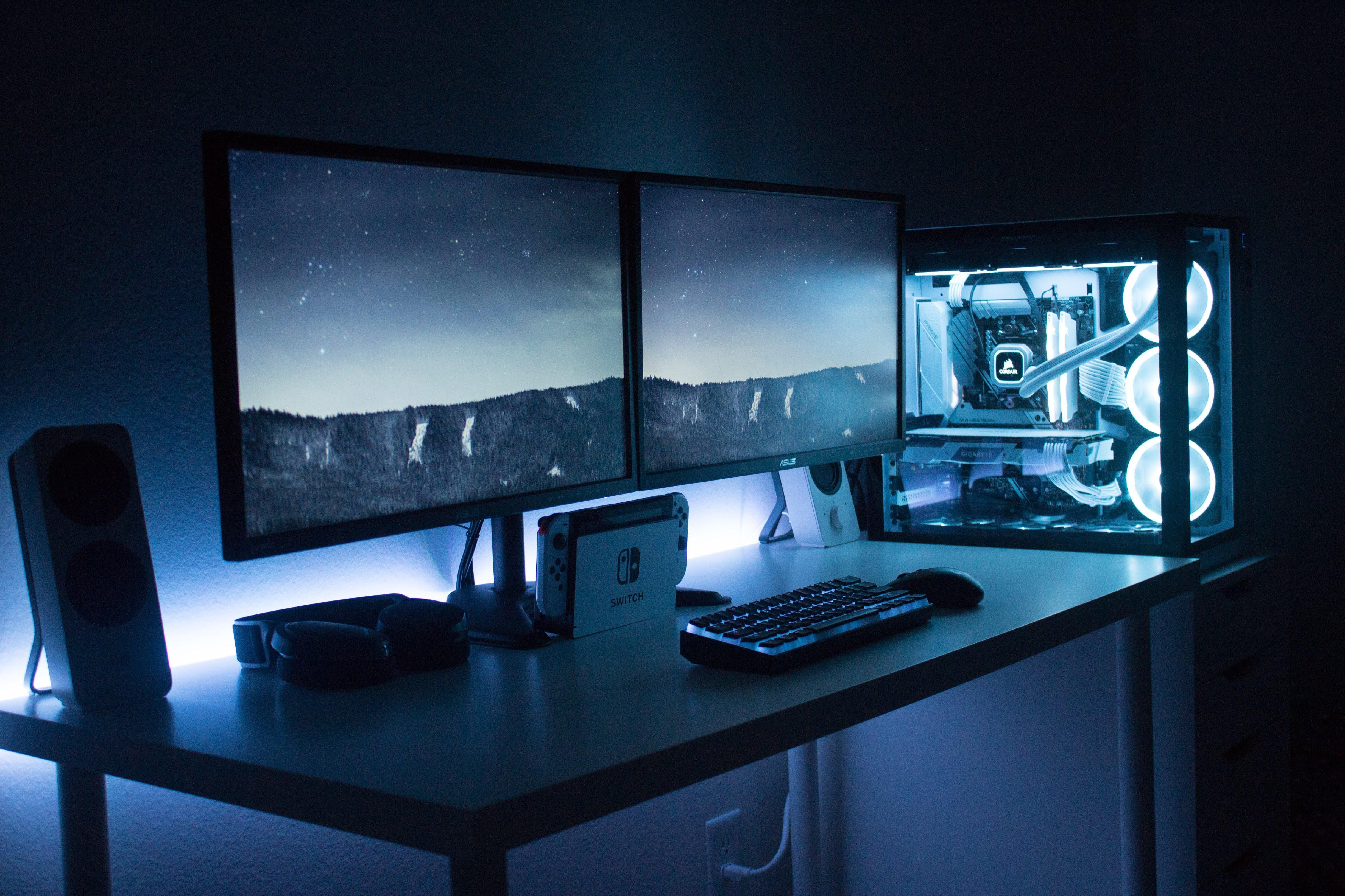 Finally finished my first battlestation! (With images