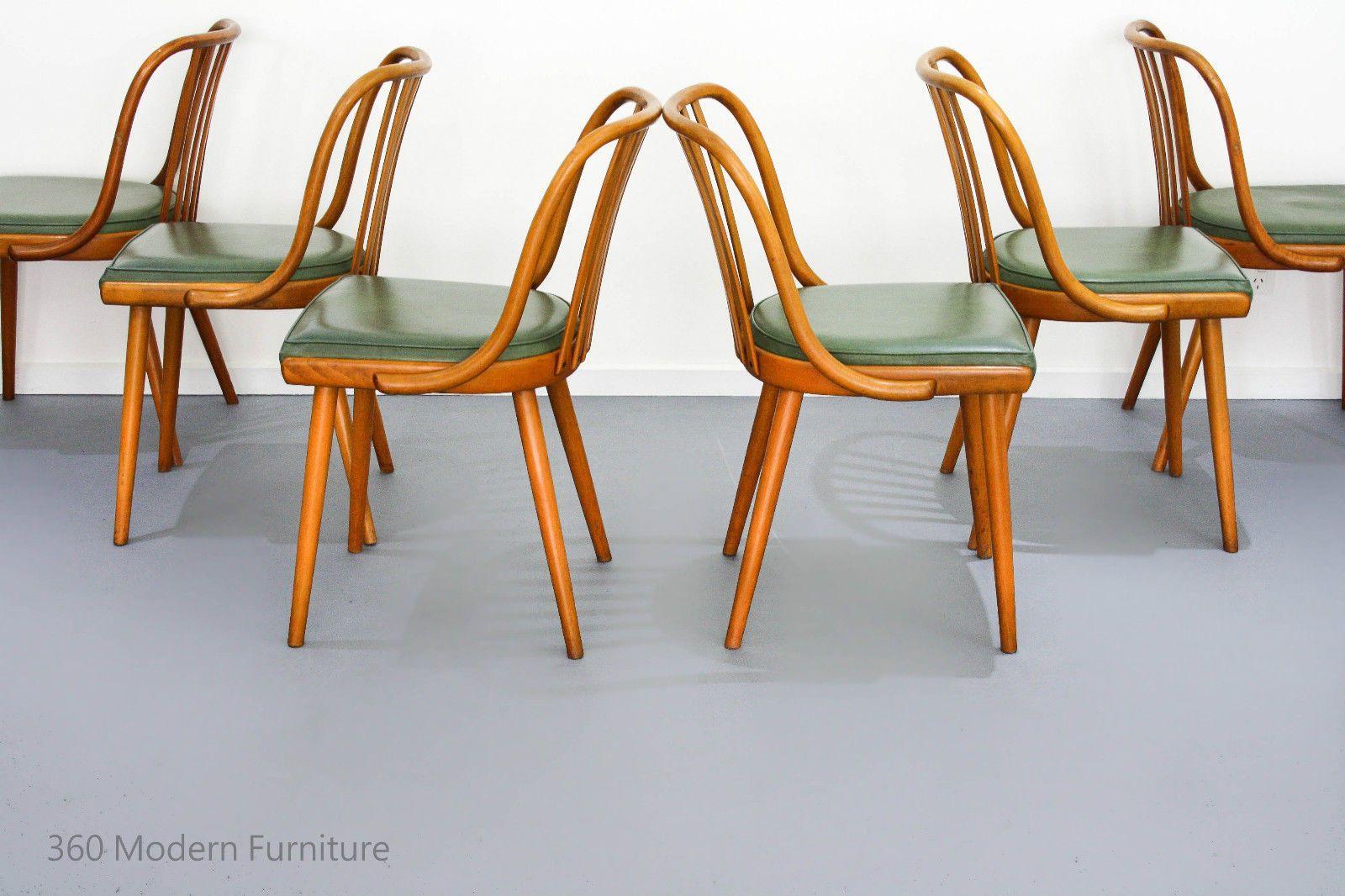 Original Bentwood Dining Chairs x 6 Ligna Vintage Retro Mid Century thonet  Czech in Home   Garden  Furniture  Dining Room Furniture. Original Bentwood Dining Chairs x 6 Ligna Vintage Retro Mid