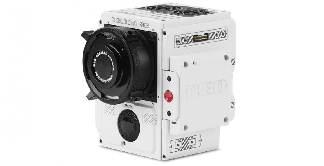 RED finally releases more information about their new, all-white 8K HELIUM WEAPON camera.