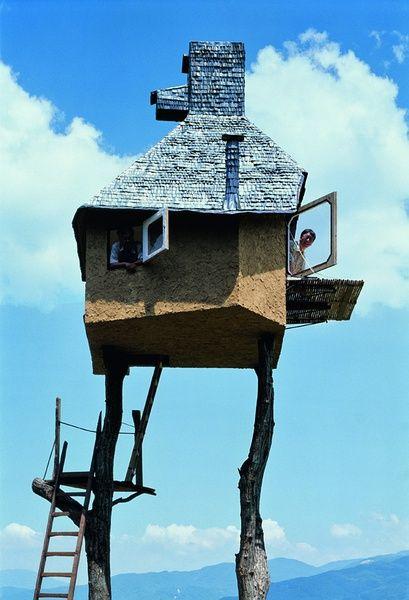 藤森照信老爷爷在TUM盖的小房子