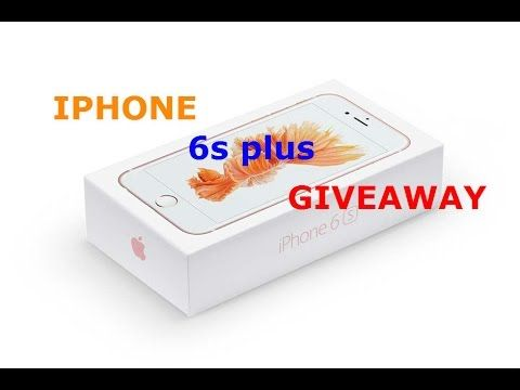 iphone 6s plus giveaway