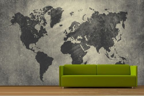 Vintage world map wallpaper for my study room home office one day vintage world map wallpaper for my study room home office one day gumiabroncs Image collections