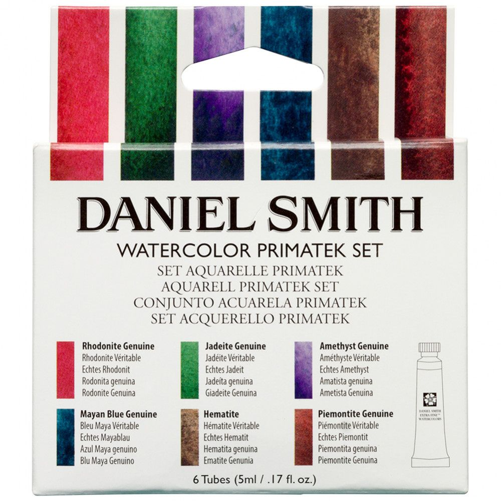 Daniel Smith Watercolour Paint Primatek Set 5ml Set Of 6