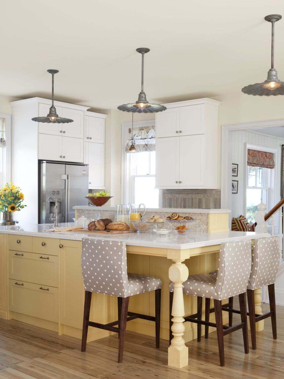 30+ Brilliant kitchen island ideas that make a statement   Islas de ...