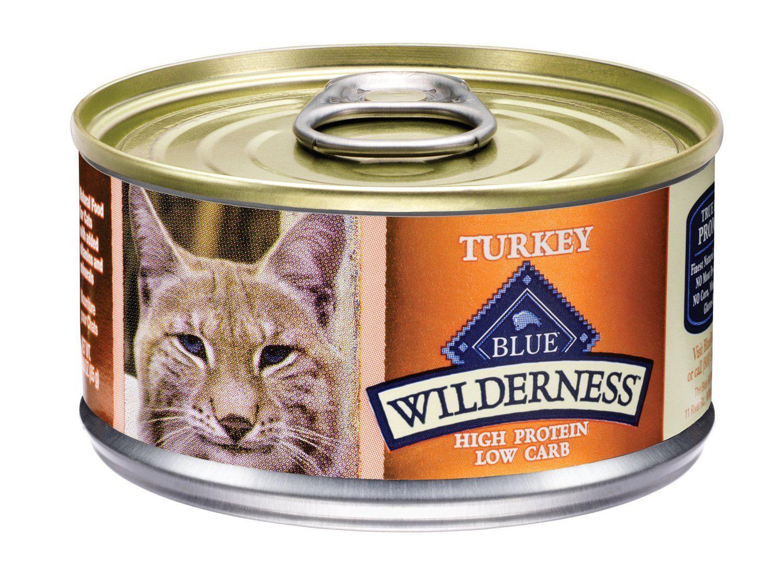 Blue Buffalo Wilderness Grain Free Canned Cat Food, Turkey
