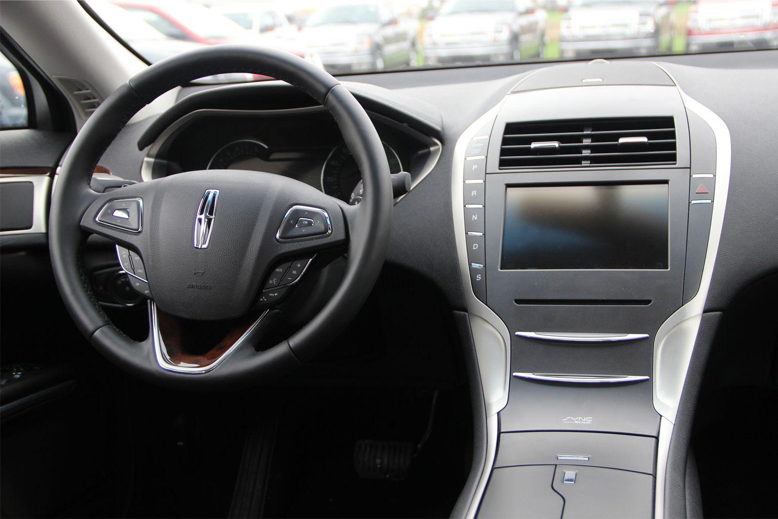 2015 Lincoln MKZ Ebony Interior
