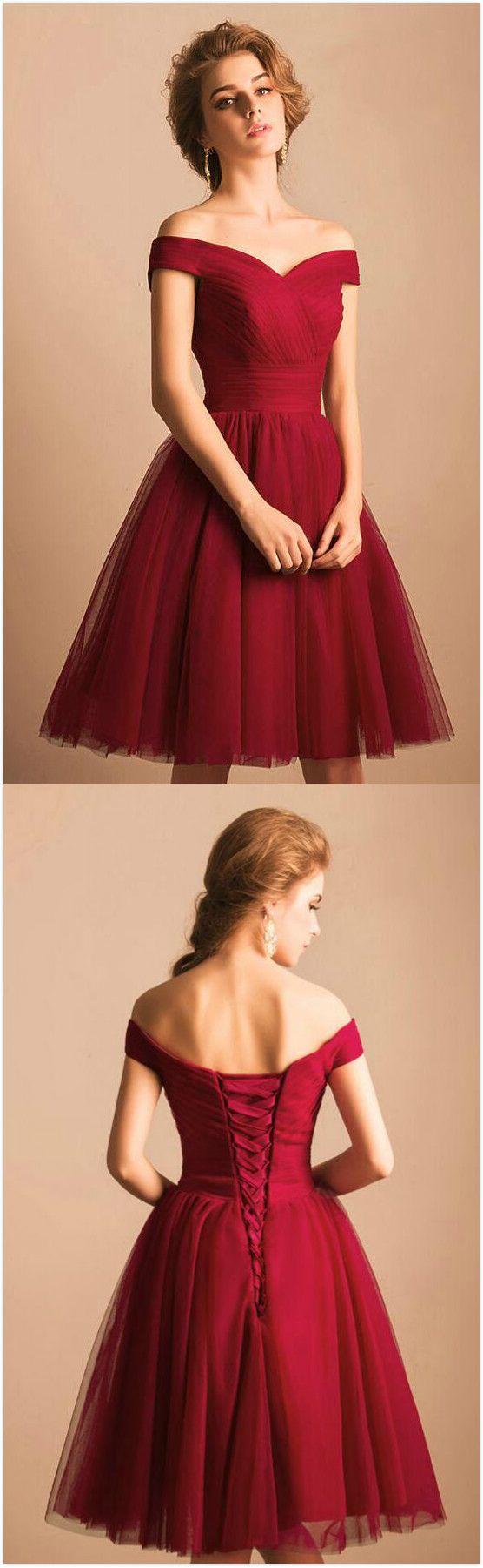 Cute tulle prom dressshort homecoming dressshort prom dresses