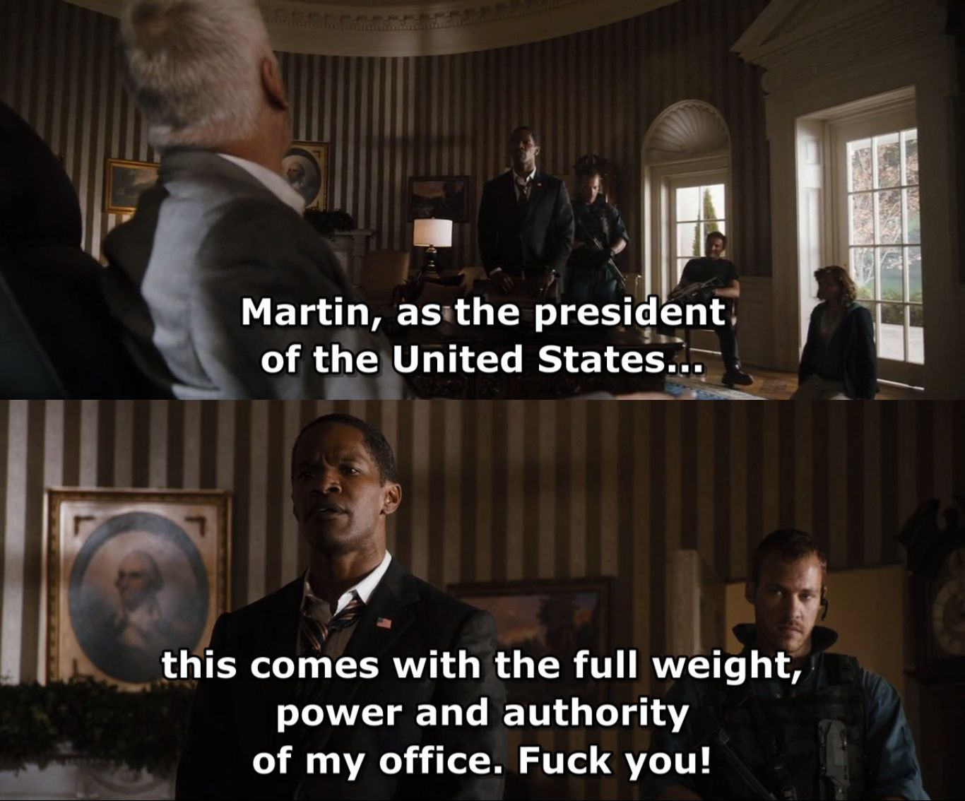 White House Quotes Prepossessing White House Down  Movies  Pinterest  White Houses Tv Quotes And .