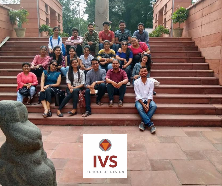 Students Of Ivs School Of Design Noida Went For The Site Visit Of National Gallery Of Modern Art Iv Interior Design School Design Interior Design Institute