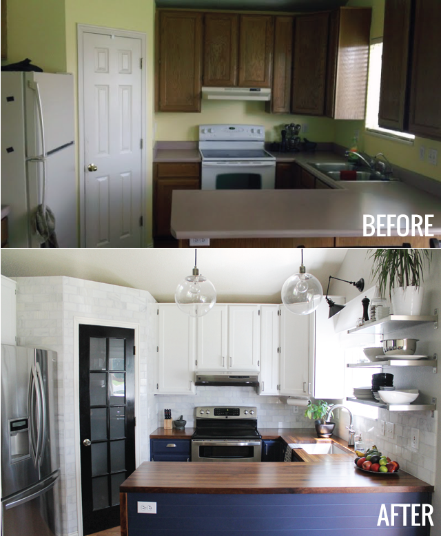 The Kitchen Before And Afters Kitchen Remodel Small Home