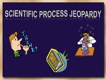 Scientific Method Jeopardy Game  Scientific Method Experiments