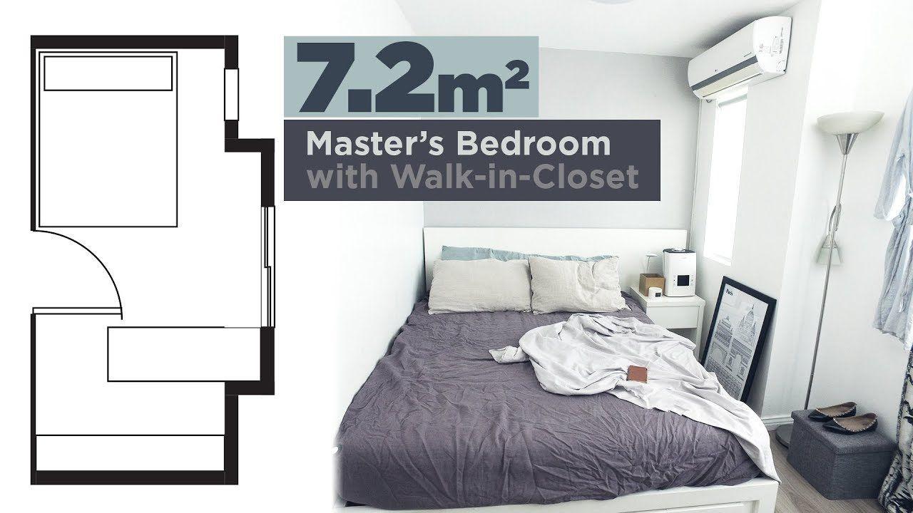 Small Bedroom Tour Small Bedroom Bedroom Tour Bedroom Minimalist bedroom design meters