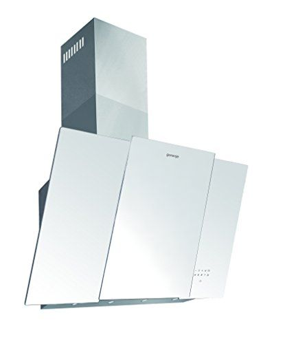 Gorenje DVG8565W Wandhaube / EEK B / 80 cm / wei� / Edelstahl / TouchControl-Bedienung