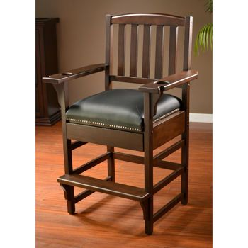 "American Heritage Marquis 30"" Billiard Room Game Chair 2-pk 